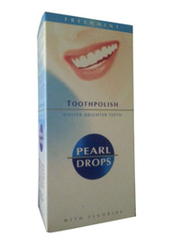 Pearl Drops Freshmint Toothpolish With Fluoride Front