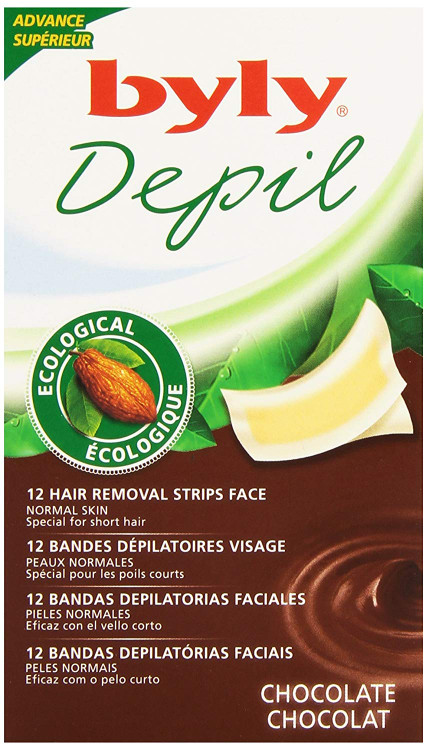 Byly Depil Chocolate Body Strips 12 Pieces Pack lowest price in pakistan on saloni.pk