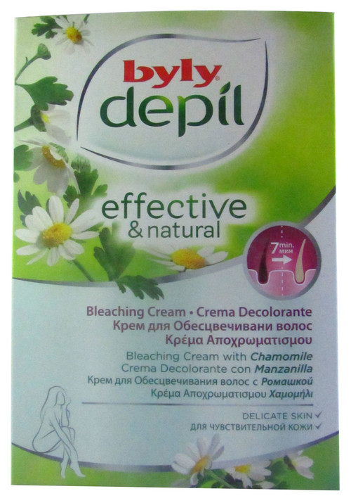 Byly Depil Effective & Natural Bleaching Cream (Dual Tube Pack) 90 ML