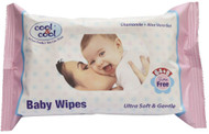 Cool & Cool Baby Wipes (64 + 8)'s