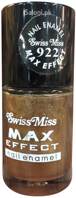 Swiss Miss Max Effect Nail Enamel no 922 front