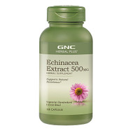 GNC Herbal Plus® Echinacea Extract 500mg 100 Capsules