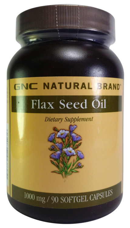 GNC Natural Brand™ Flax Seed Oil (90 Softgel Capsules) buy online product in pakistan