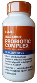 GNC Multi-Strain Probiotic Complex 10 Billion CFUs 90 Capsules best price in pakistan