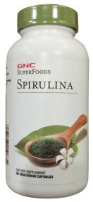 GNC SuperFoods Spirulina Dietary Supplement 90 Caps buy vitamins supplement online in pakistan