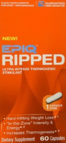 EPIQ Ripped Ultra-Intense Thermogenic Stimulant - 60 Capsules
