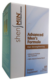 GNC Shen Min Hair Strengthening Advanced Men's Formula 60 Tablets