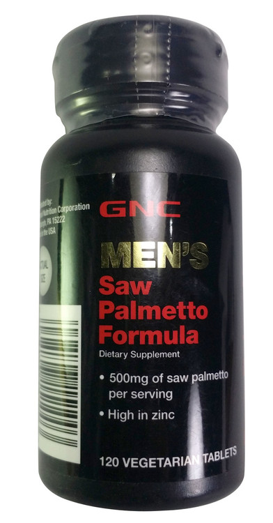 GNC Men's Saw Palmetto Formula (120 Tablets) buy online product in pakistan