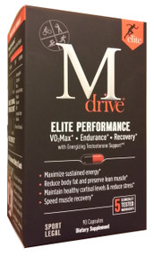 M Drive Elite Testosterone Support (90 Capsules) buy online in pakistan