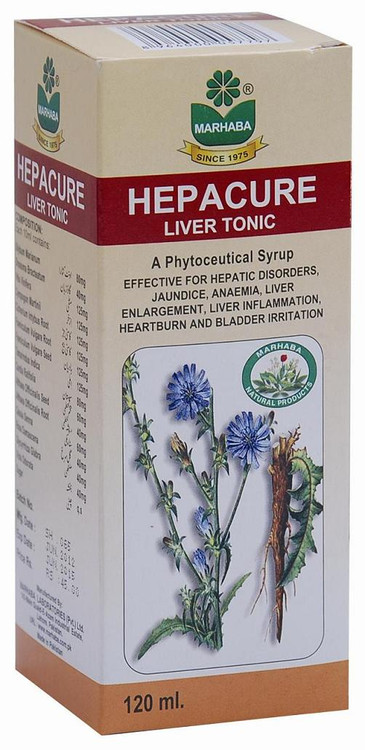 Marhaba Hepacure Liver Tonic (A Phytoceutical Syrup)
