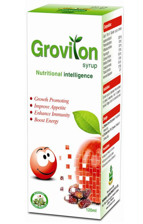 Marhaba Groviton syrup (120 ml)
