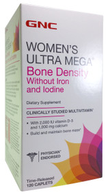 GNC Women's Ultra Mega® Bone Density Dietary Supplements (120 Capsules) buy online product in pakistan