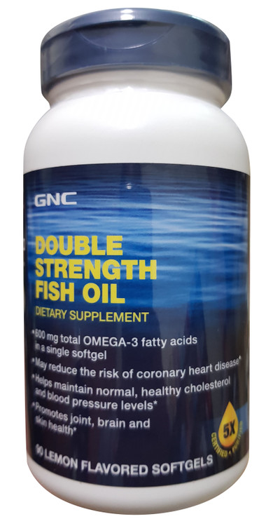 GNC Double Strength Fish Oil (90 softgels) buy online product in pakistan