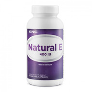 GNC Natural E 400IU Health Supplement (90 Softgels) buy online in pakistan original supplements imported