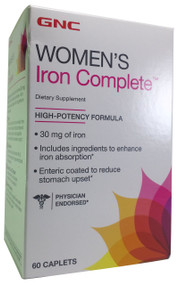 GNC Women's Iron Complete (60 Caplets)  Buy online in Pakistan