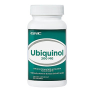 GNC Ubiquinol 200 MG Dietary Supplement 30 Softgels