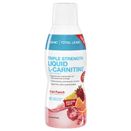 GNC Triple Strength Liquid L-Carnitine Fruit Punch 473 ML