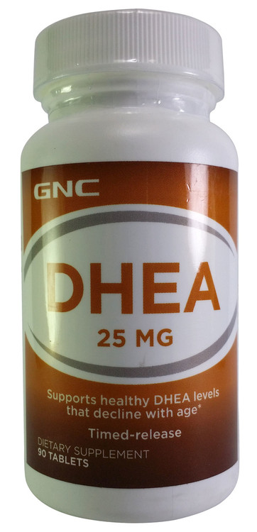 GNC DHEA 25 MG Dietary Supplement 90 Tablets  buy online in pakistan