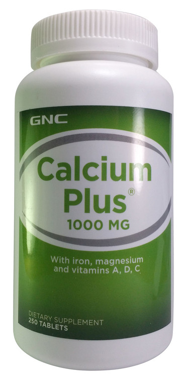 GNC Calcium Plus 1000 With Magnesium & Vitamin D-3 buy online product in pakistan