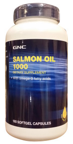 GNC Salmon Oil 1000mg (180 Caps)