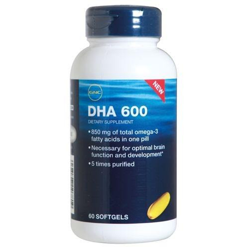 GNC DHA 600 (60 softgels)