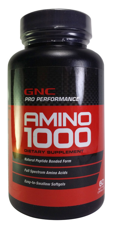 GNC Pro Performance Amino 1000 (60 softgels) buy online product in pakistan