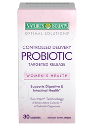 Nature's Bounty Controlled Delivery Probiotic 30 Caplets  Best price