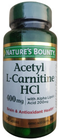 Nature's Bounty Acetyl L-Carnitine HCl 30 Capsules buy online in pakistan