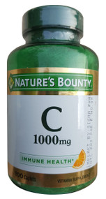 Nature's Bounty Vitamin C 1,000 mg , 100 Caplets  buy online in paksitan
