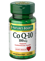 Nature's Bounty Co Q-10 100mg 45 Rapid Release Softgels