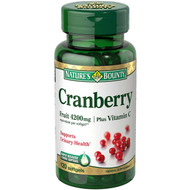 Nature's Bounty Cranberry 4,200 mg 120 Rapid Release Softgels