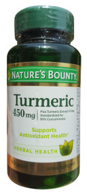 Nature's Bounty Turmeric/ Curcumin 450 mg Buy online in Pakistan best price original product
