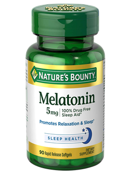 Nature's Bounty Melatonin 5 mg , 90 Rapid Release Softgels