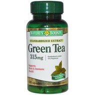 Nature's Bounty Green Tea Extract 315mg 100 Capsules