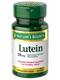 Nature's Bounty Lutein 20mg 40 Rapid Release Softgels