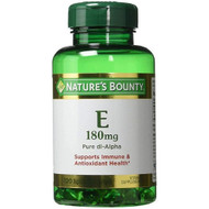 Nature's Bounty Vitamin E-180 IU Pure DL-Alpha 120 Softgels lowest price in Pakistan