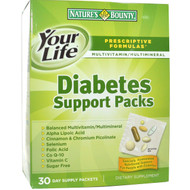 Natures Bounty Diabetes Support Pack (30 Packets)