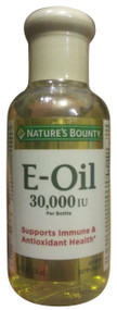 Natures Bounty Vitamin E-Oil 30,000 IU (Topical or Oral) - 2.5 fl. oz. Liquid(Front)