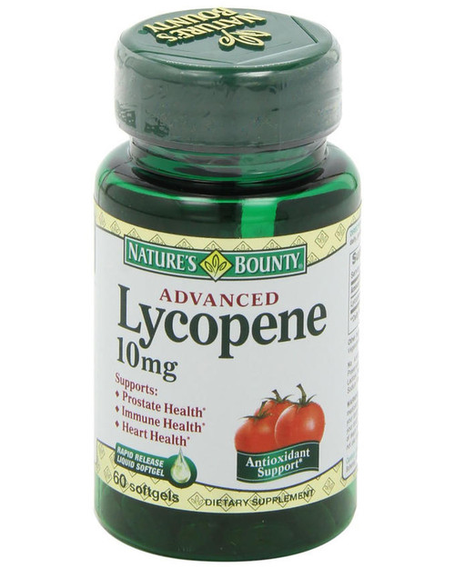 Natures Bounty Lycopene 10mg (60 Softgels)