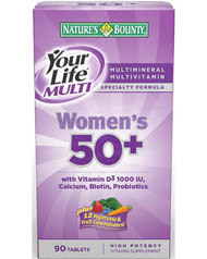 Natures Bounty Your Life Multi Women's 50+ (90 Tablets)