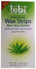 Lubi Aloe Vera Extract Wax Strips best price buy online in pakistan