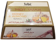 Lubi Hair Removal Hot Wax Honey & Almond 400g best price