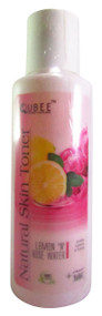 Qubee Natural Skin Toner Lemon & Rose Water buy online in pakistan