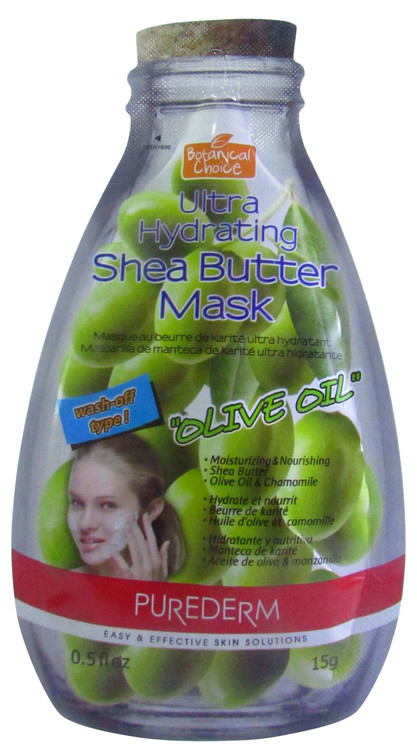 Purederm Ultra Hydrating Shea Butter Mask (Olive Oil)