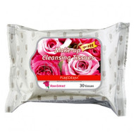 Purederm Make-up Cleansing Tissues Rose