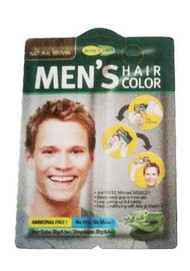 Purederm Men's Hair Colour Natural Brown