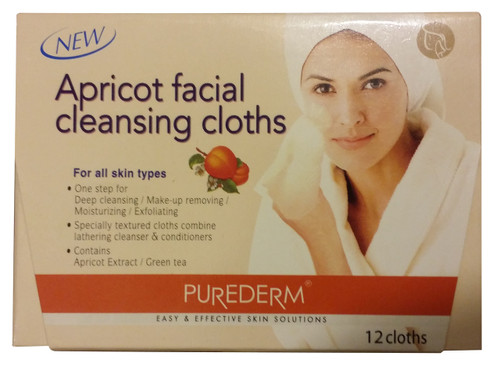 Purederm Apricot Facial Cleansing Cloths
