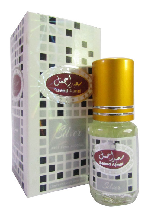 Saeed Ghani Saeed Ajmal Attar Silver 3ml