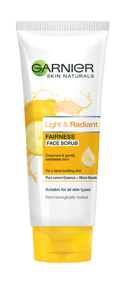 Garnier Skin Naturals Light & Radiant Scrub 100 ML