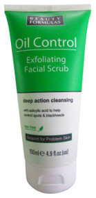 Beauty Formulas Oil Control Exfoliating Facial Scrub 150 ML